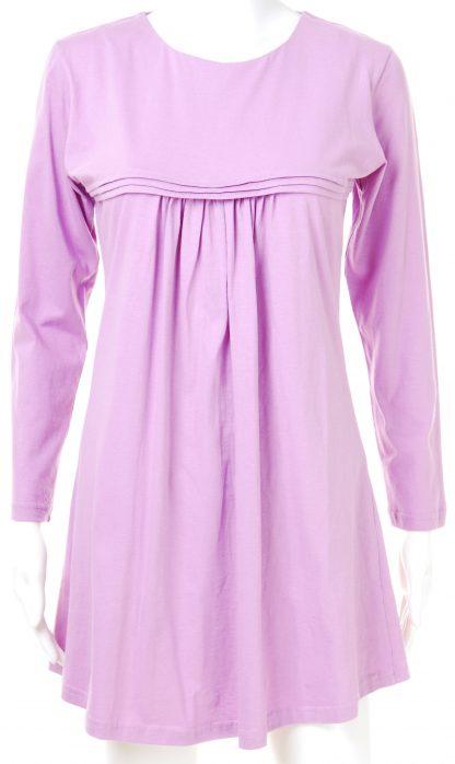 T Shirt Muslimah Haleema H904B Purple 2