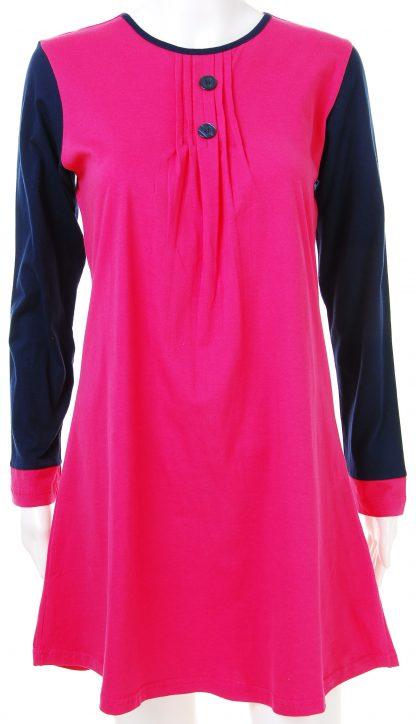 T Shirt Muslimah Haleema H907B Pink 2