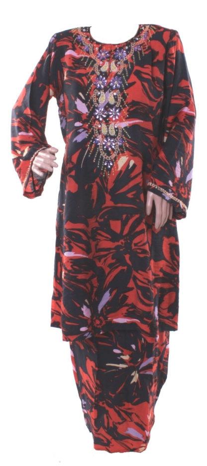 Baju Kurung Pahang Kapas Manik Eksklusif BKM20