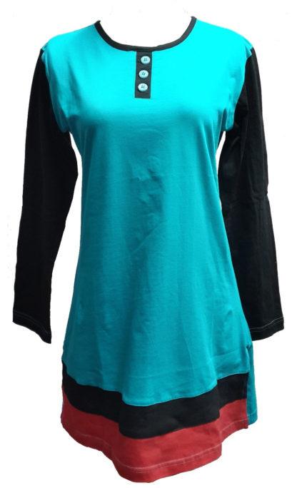 T Shirt Muslimah Haleema H905A Green