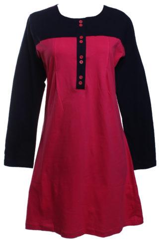 T Shirt Muslimah Haleema H909A Pink