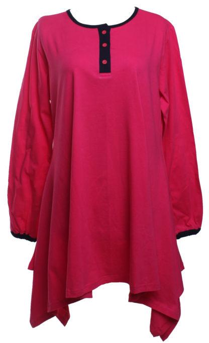 T Shirt Muslimah Haleema H908B Pink