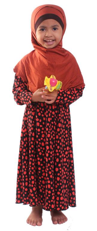 ELM16 Jubah Lycra Kanak Kanak Elmira