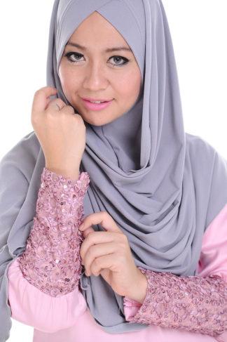 TIRA01 Jubah Tira Princess Cut