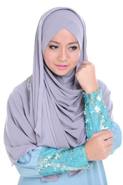 TIRA04 Jubah Tira Princess Cut
