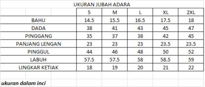 ADARA05 Jubah Adara Red 4