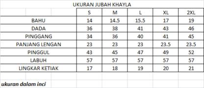 KHAYLA02 Jubah Bercorak Eksklusif Khayla 6