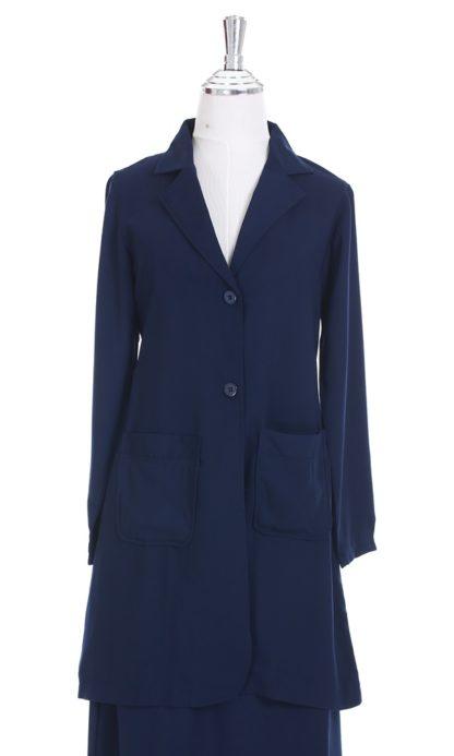Aiza04 Blouse/Jaket Navy Blue 5