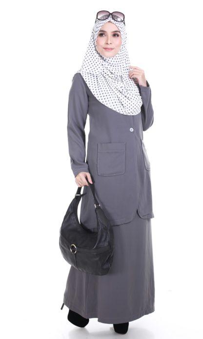 Aiza03 Blouse/Jaket Grey 2