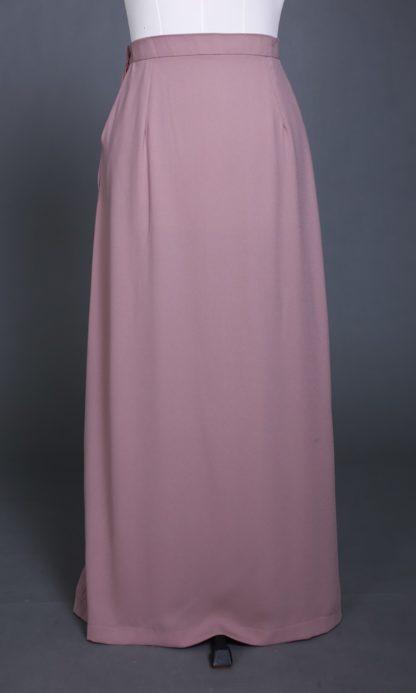 Husna04 Skirt Labuh A Line Officewear Moccha 3
