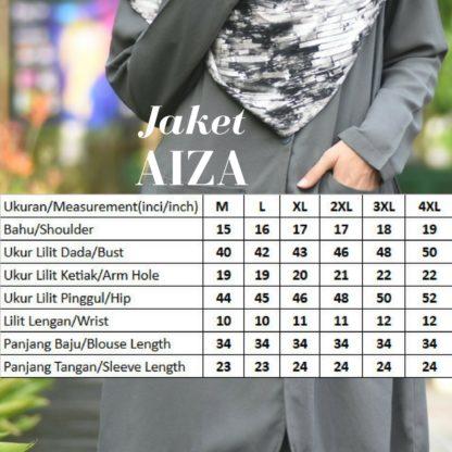 Aiza03 Blouse/Jaket Grey 5