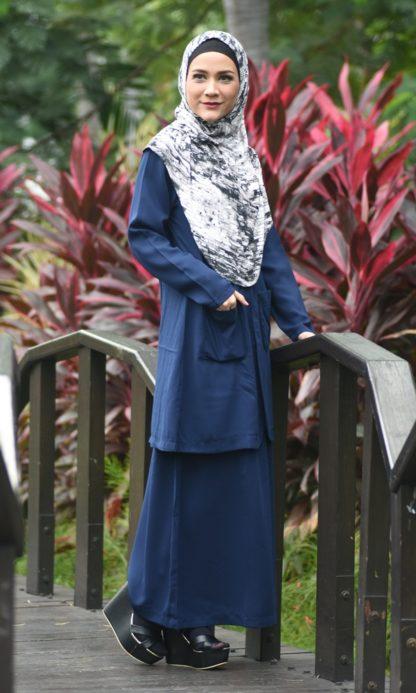Aiza04 Blouse/Jaket Navy Blue 2