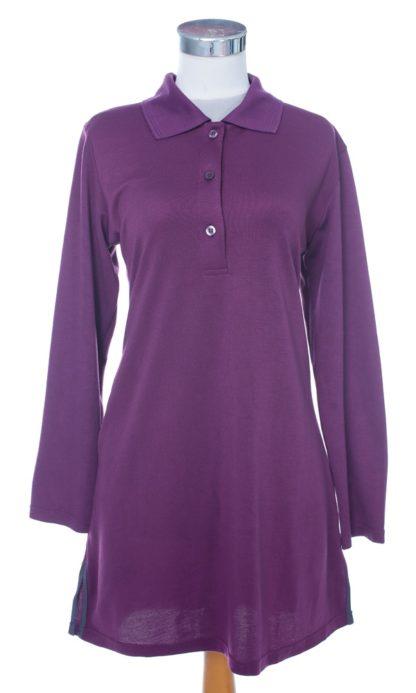 T Shirt Muslimah Haleema H9016B Purple 3