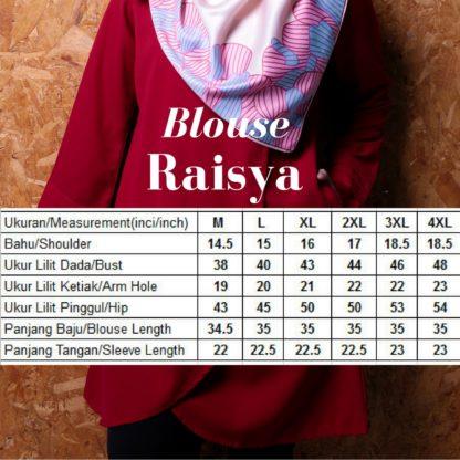 Raisya05 Tulip Blouse Red 4