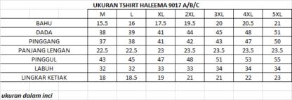 T Shirt Muslimah Haleema H9017C Brown 2