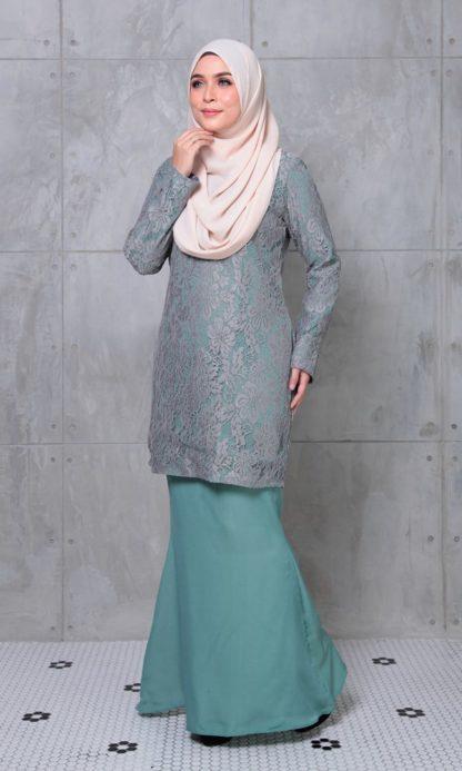 ALEENA05 Baju Kurung Lace Aleena 2