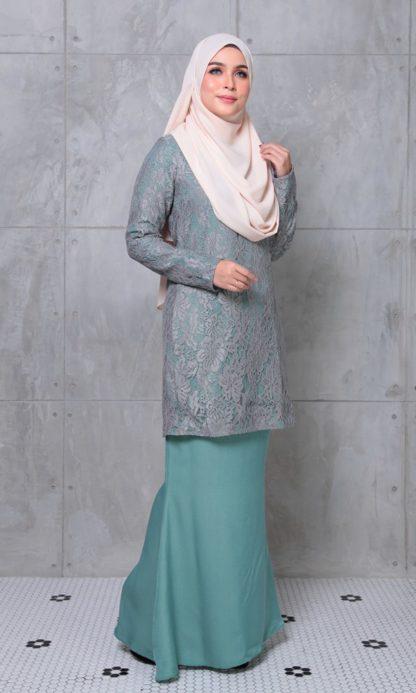 ALEENA05 Baju Kurung Lace Aleena 4