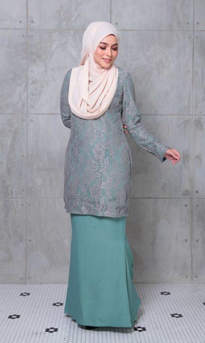 ALEENA05 Baju Kurung Lace Aleena 3
