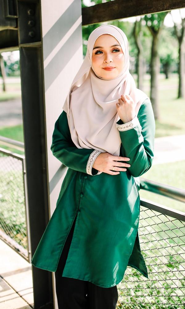 Mencari Blouse Muslimah Cotton Labuh Plus Size? 4