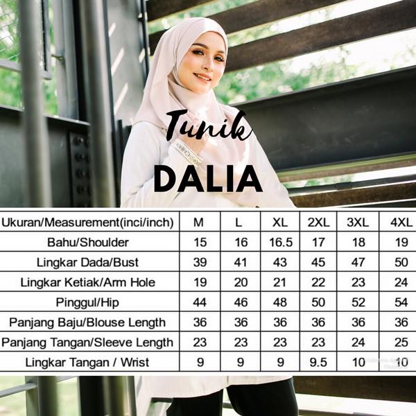Dalia02- Tunik Blouse Muslimah Cotton Labuh Kuning 13