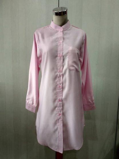 Shira21 Kemeja Wanita Pink 5
