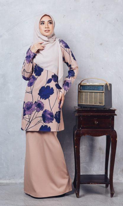 Baju Kurung Batik Casilda03 Nude 1