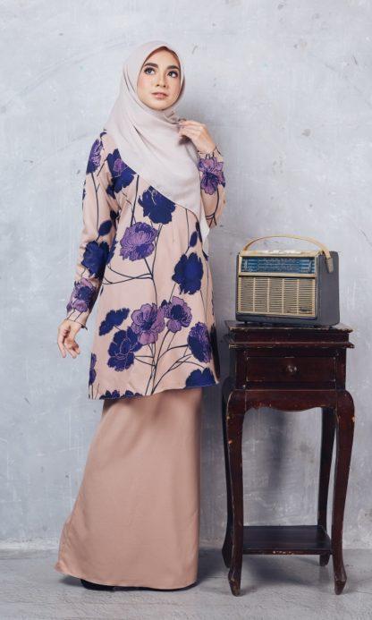 Baju Kurung Batik Casilda03 Nude 4