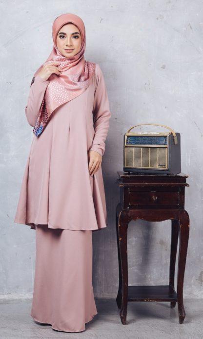 Baju Kurung Riau Syabila02 Pink 2