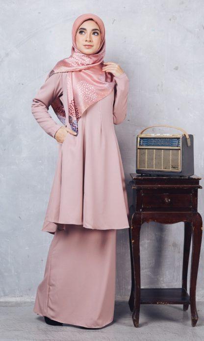 Baju Kurung Riau Syabila02 Pink 1