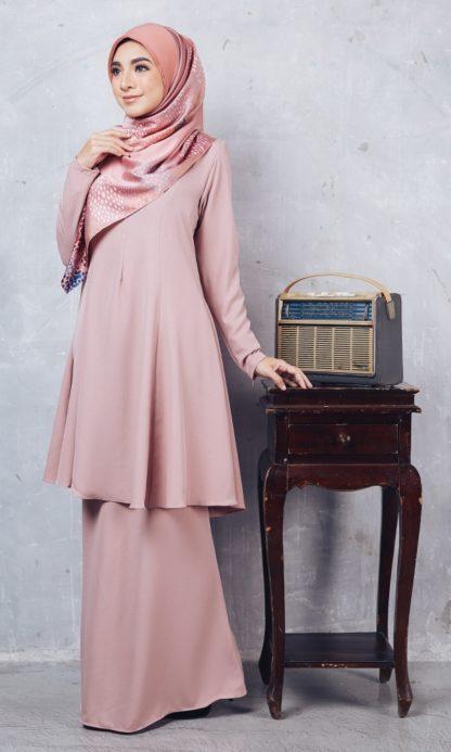 Baju Kurung Riau Syabila02 Pink 3