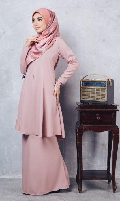 Baju Kurung Riau Syabila02 Pink 6