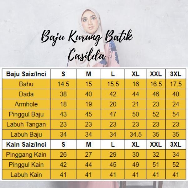 Baju Kurung Batik Casilda02 Light Pink 12