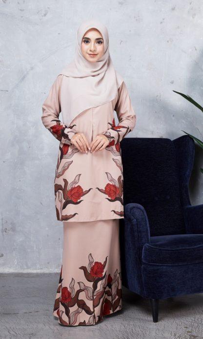 Baju Kurung Chayra05 Nude 6