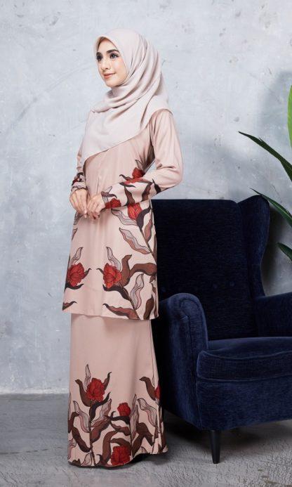 Baju Kurung Chayra05 Nude 5