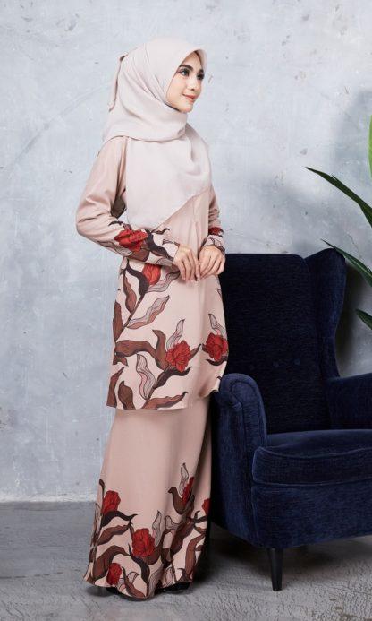 Baju Kurung Chayra05 Nude 4