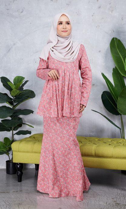 Baju Peplum Haya01 Pink 3